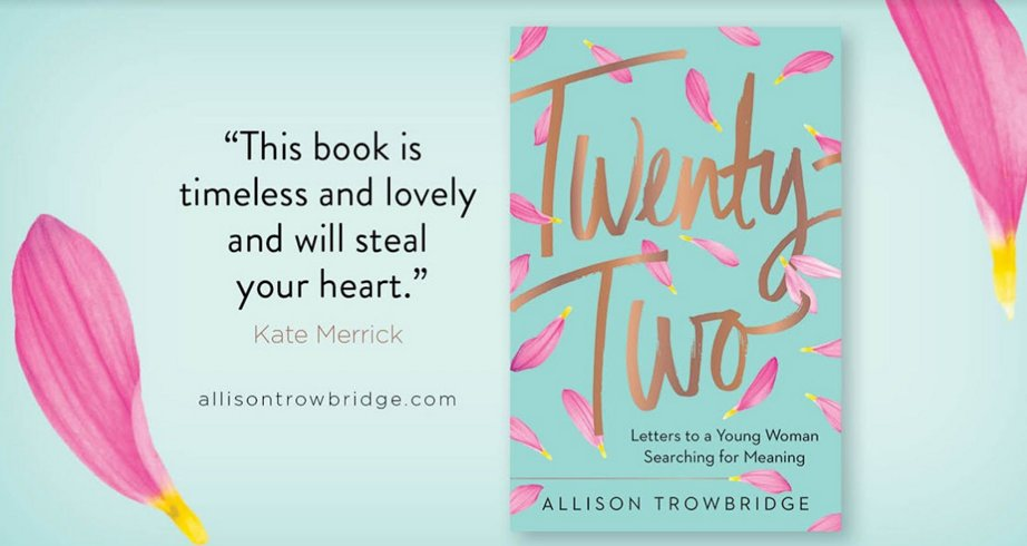 Milk and Honey Magazine author interview with the writer or Twenty Two, a faith based encouragement guide for millennial women. 5 stars!
