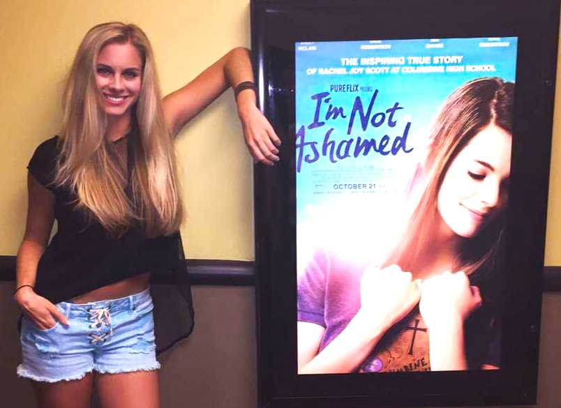 Milk and Honey Magazine interview with actress Taylor Kalupa about her time filming the Christian movie I'm Not Ashamed, in theaters everywhere in one week! The movie follows a Columbine shooting victim who wasn't afraid to stand up for her faith in Jesus Christ.