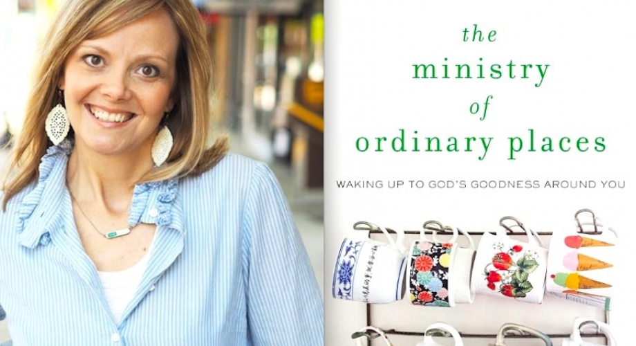 Milk and Honey Magazine interview and book review on The Ministry of Ordinary Places with author Shannan Martin!