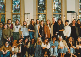 Milk and Honey Magazine article with Taylor Leonhardt on the faithful project Christian book, music, and gathering of women to encourage other women!