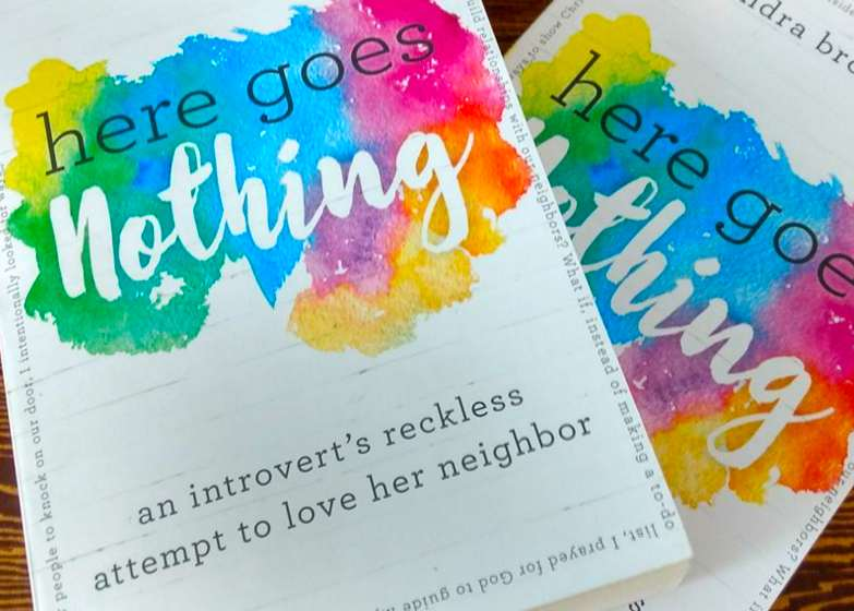 Milk and Honey Magazine interview with the author Kendra of Here Goes Nothing: An Introvert's Reckless Attempt to Love Her Neighbor! She explains the importance of faith, courage, and love in this Q&A!